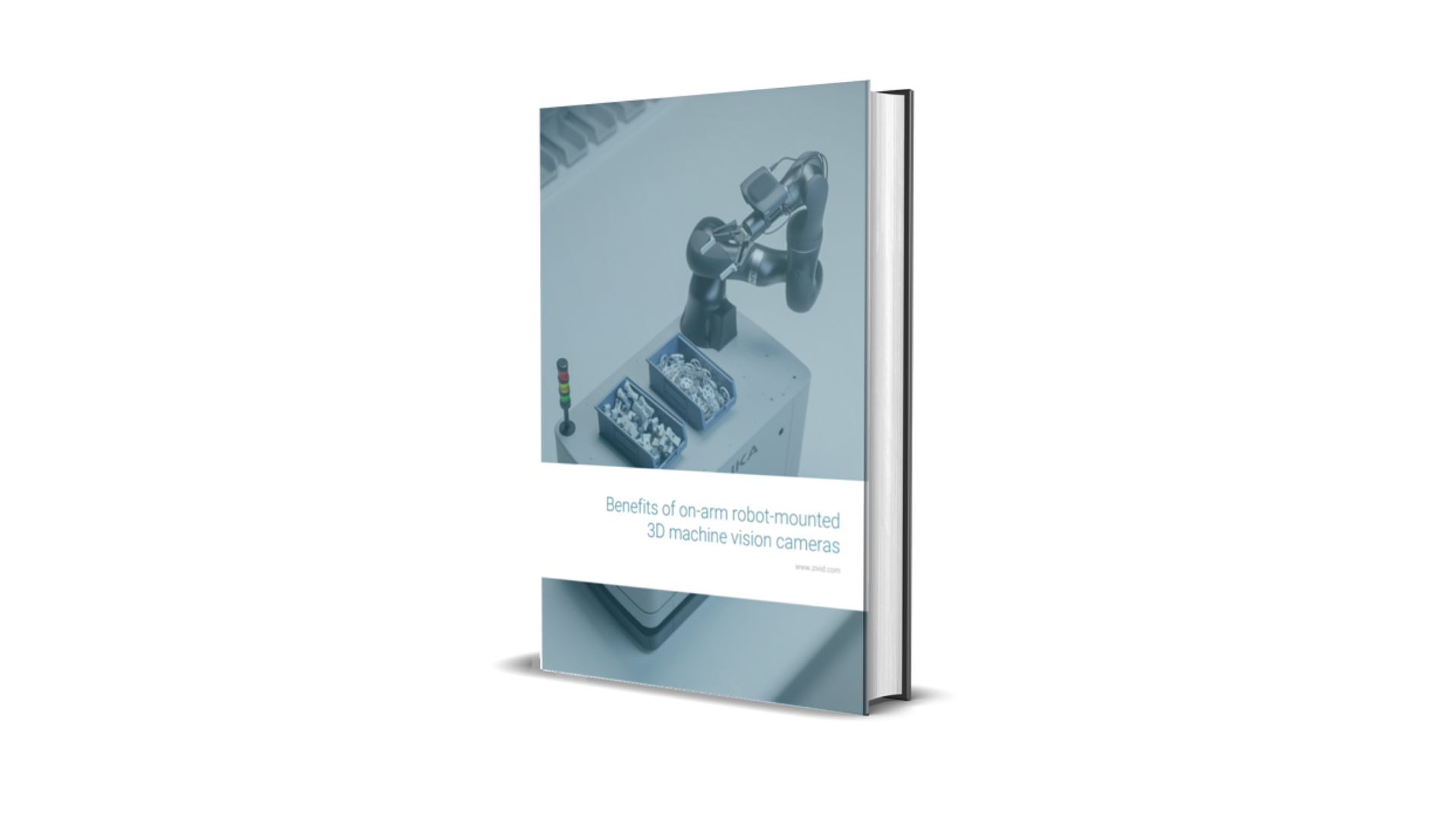 ebook Benefits of on-arm robot-mounted 3D machine vision cameras