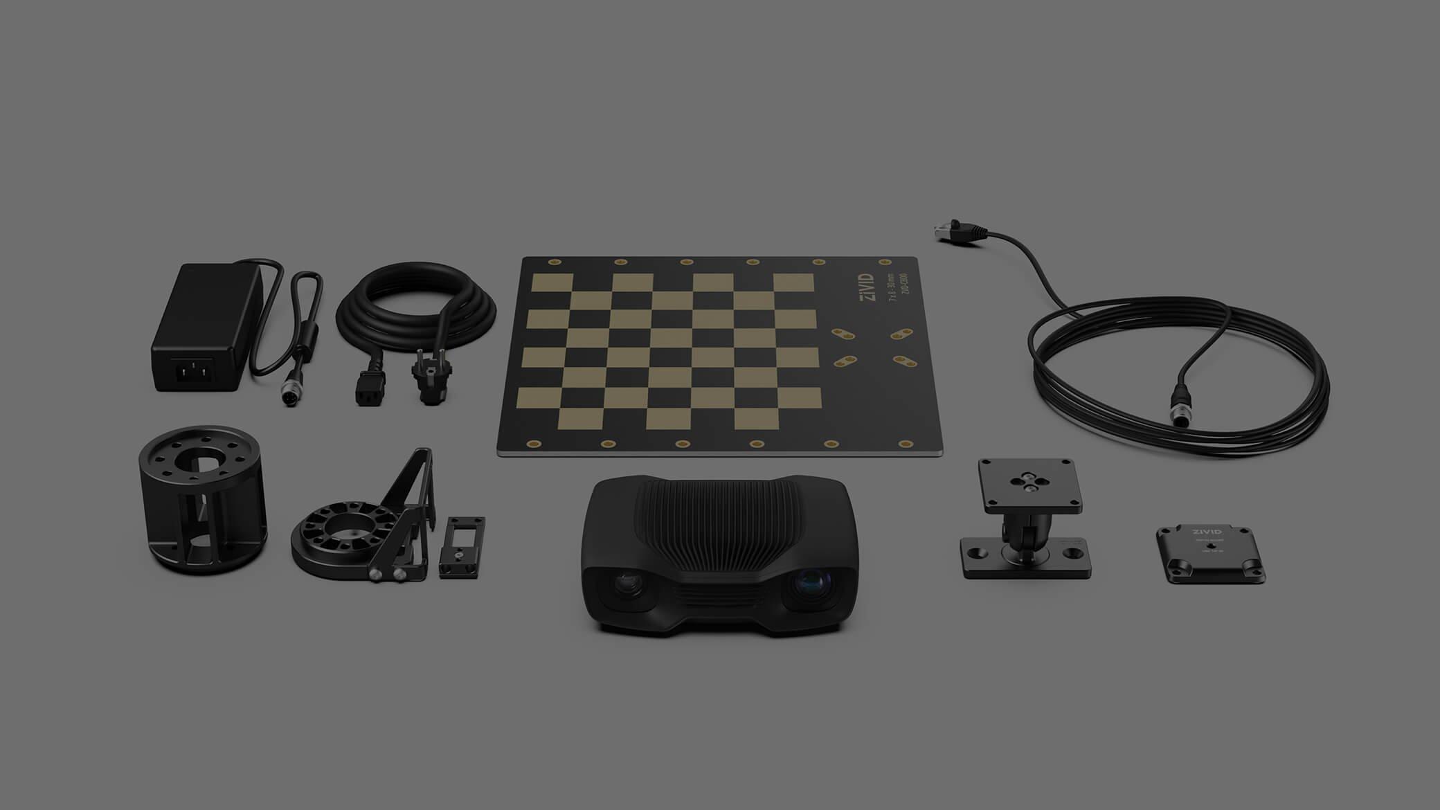 Zivid 3D developer kit bundle