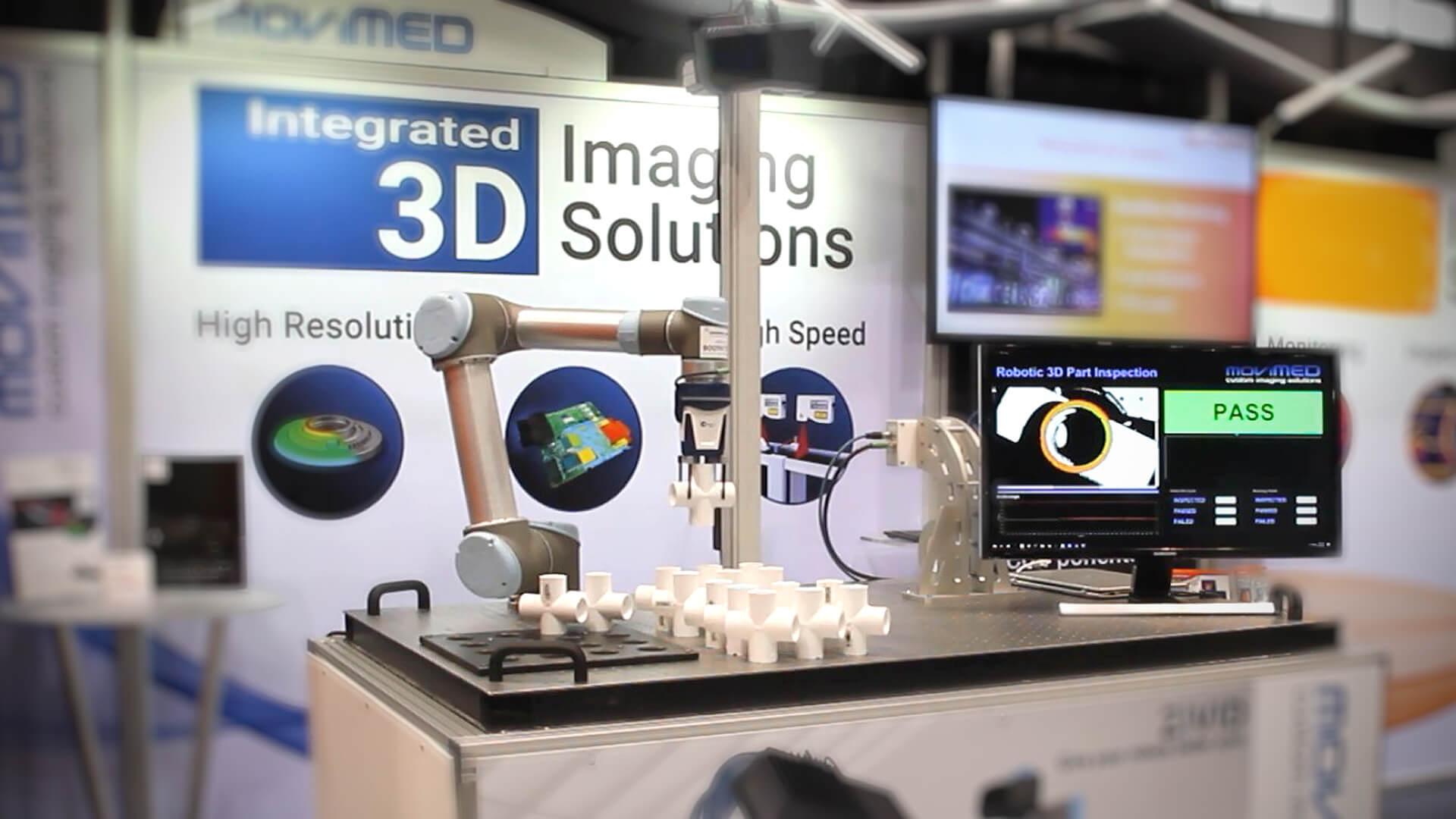 MoviMED Zivid 3D inspection