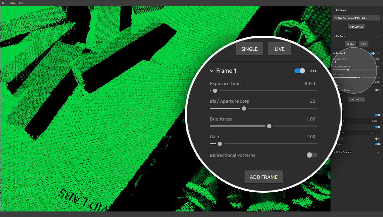 Zivid-Studio-Controls