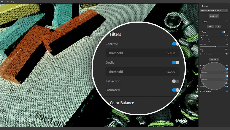 Zivid-Studio-Filters