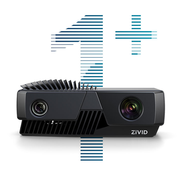 Zivid One Plus industrial 3D color cameras