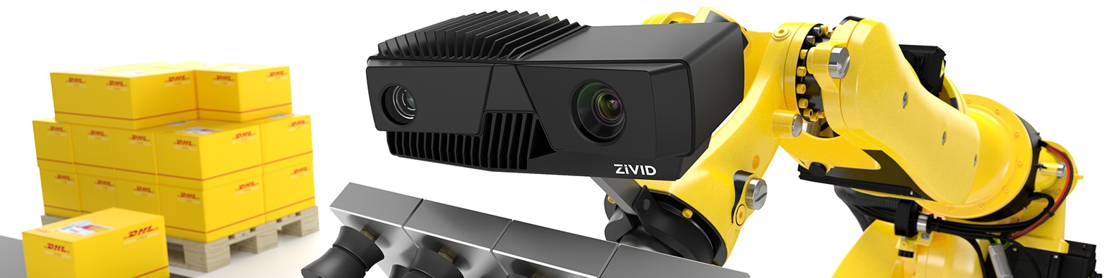 DHL using robot mounted Zivid camera