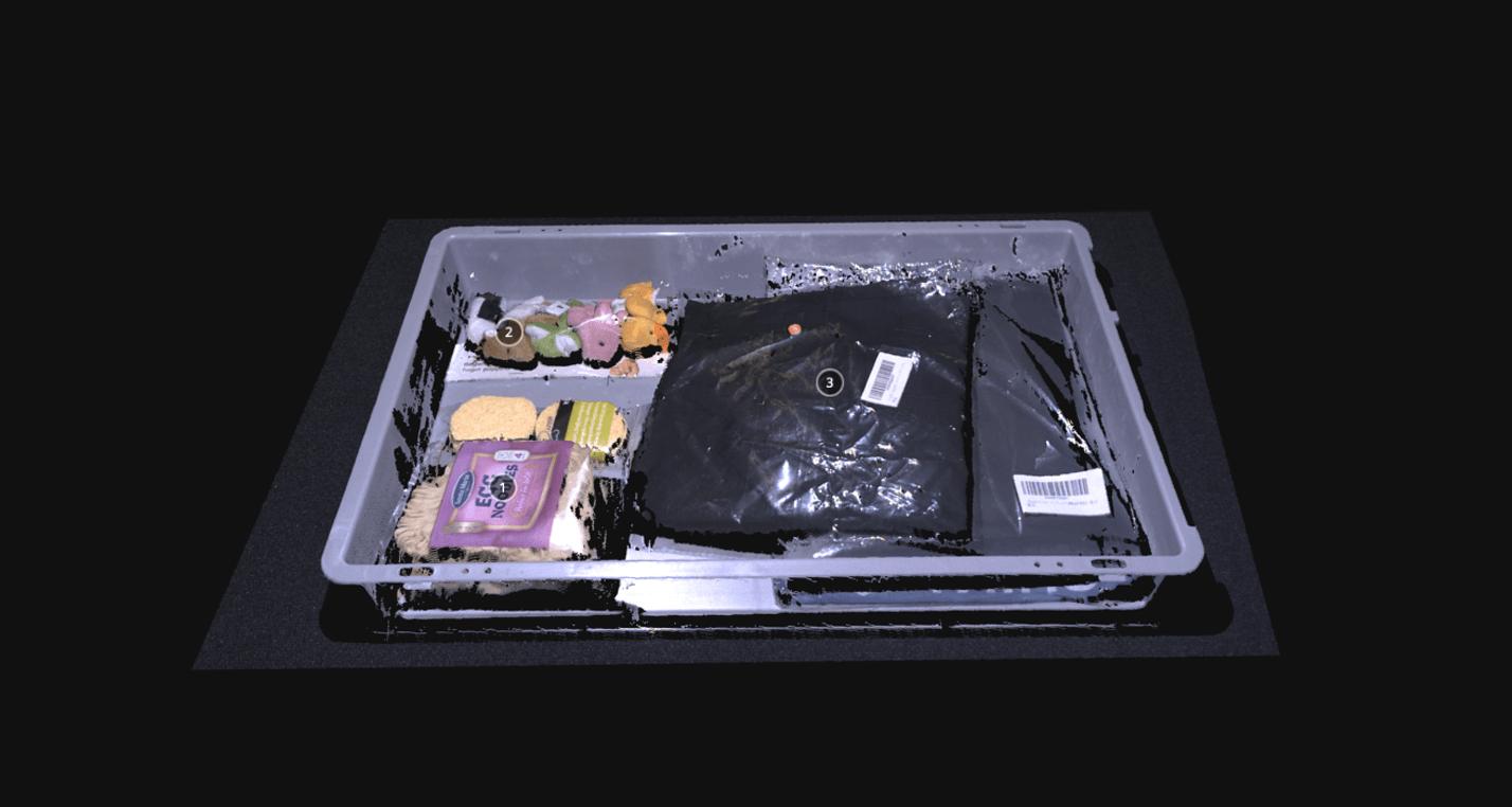 Plastic wrapped consumer goods