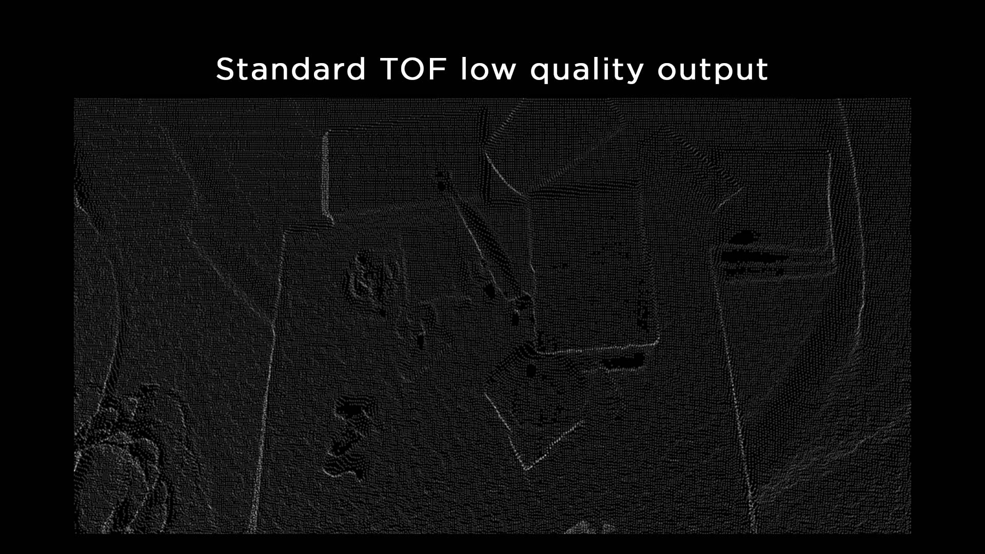 Low quality TOF 3D bin-picking objects