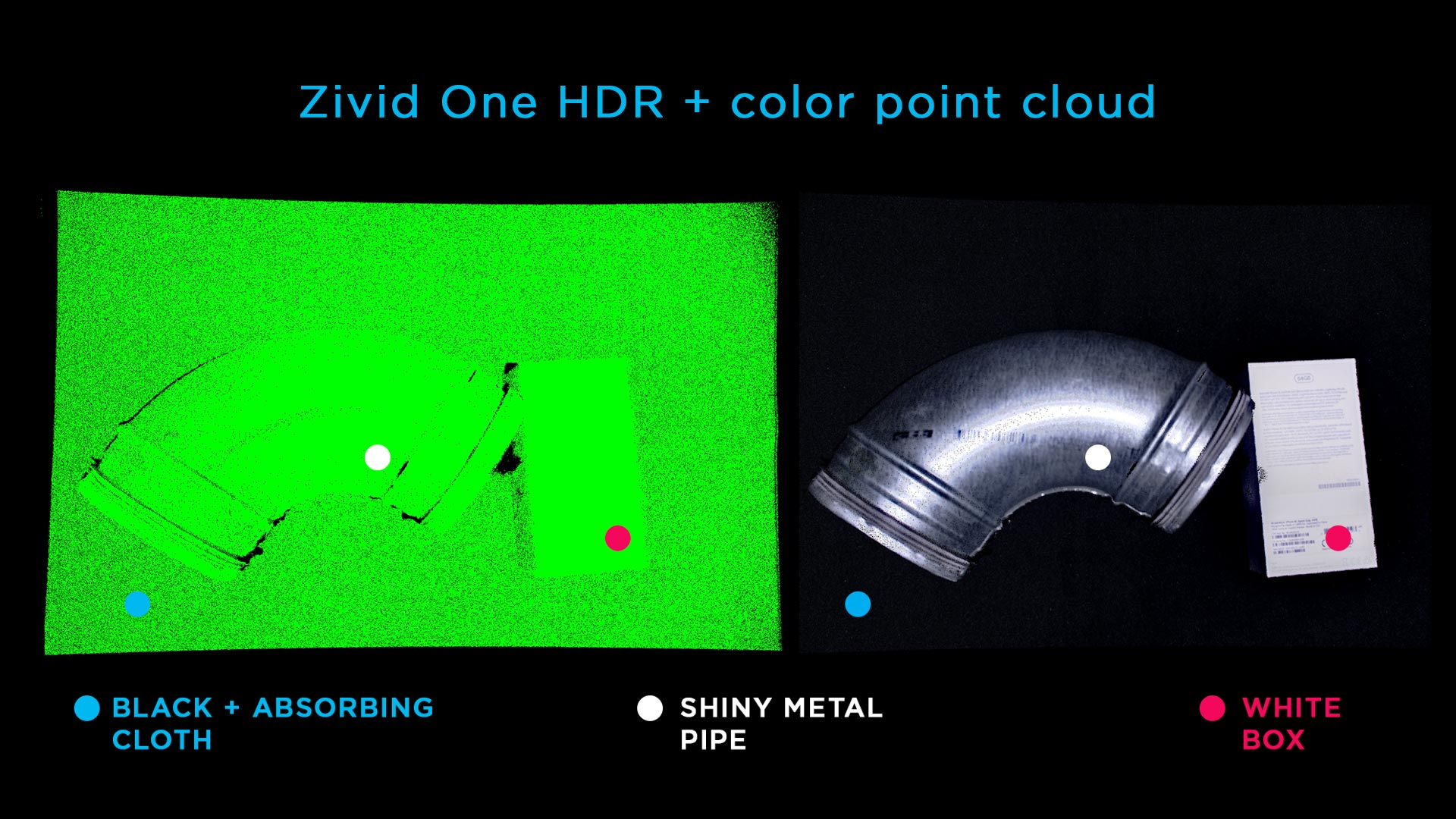 High resolution 3D vision bin-picking objects