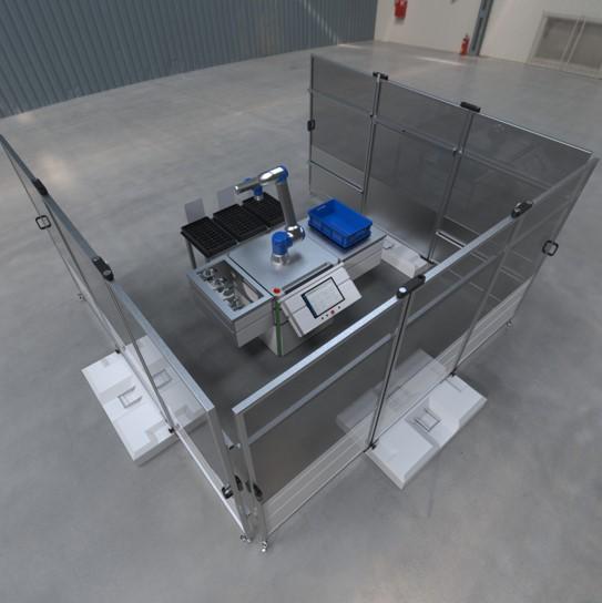 Kolektor Collaborative Machine Tending 3D application