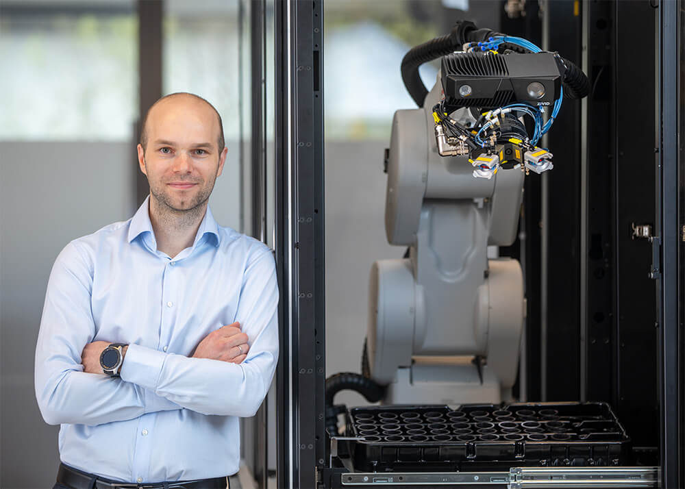 On-Arm-3D-camera-robotics