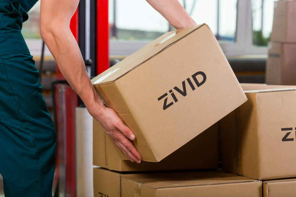 Robust packing for shipping and warehouse handling industrial 3D cameras Zivid