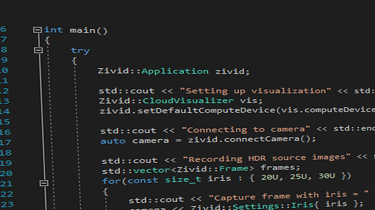 Zivid SDK for 3D development