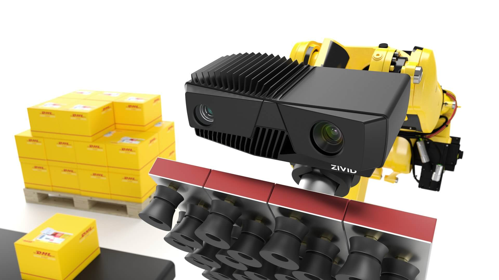 Zivid enables DHL robotic vision automation