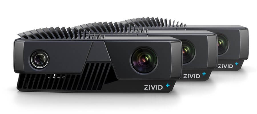 Industrial grade Zivid One Plus 3D cameras