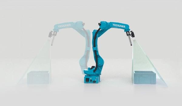 3D-camera-multible-bins-robot-mounting